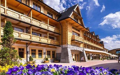 Polské Tatry v 4* Hotelu Bania Thermal & Ski s neomezeným wellness a vstupem do aquaparku + polopenze