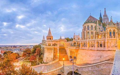 Maďarsko: centrum Budapešti kousek od nádraží a významných historických památek v Hotelu T62 *** se snídaní