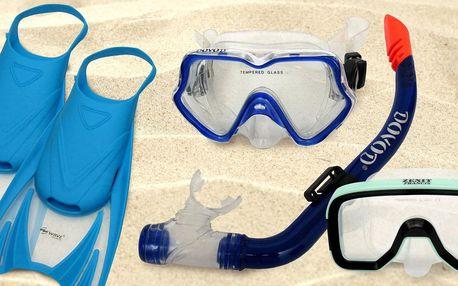 Vybavení na šnorchlování pro děti i dospělé
