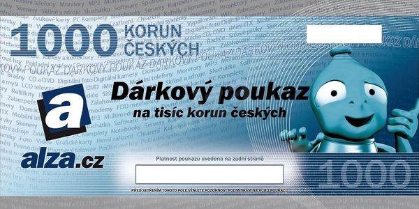 Elektronický dárkový poukaz Alza.cz – 500 Kč3