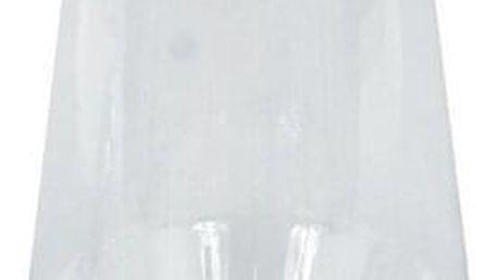 Skleněná váza Reillon čirá, 25 cm