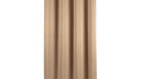 Trade Concept Zatemňovací závěs Arwen světle hnědá, 140 x 245 cm