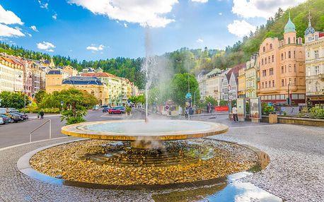 Karlovy Vary exkluzivně z centra ze 4* Spa Hotelu IRIS s neomezeným wellness, bazénem, procedurami a polopenzí