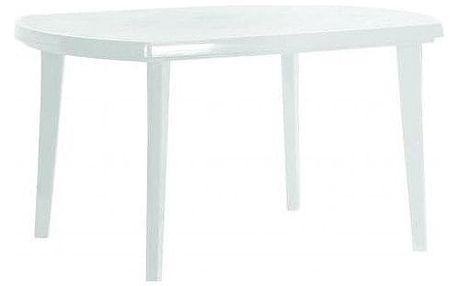 Allibert ELISE 6616 Zahradní plastový stůl bílý