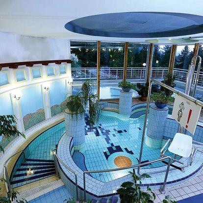 Hévíz, Ensana Thermal Hotel Aqua**** s wellness s termální vodou