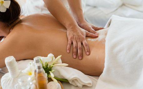 Letní balíček: thajská masáž i hydratační masáž obličeje