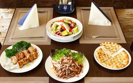 Řecké letní menu: souvlaki, gyros i tzatziky