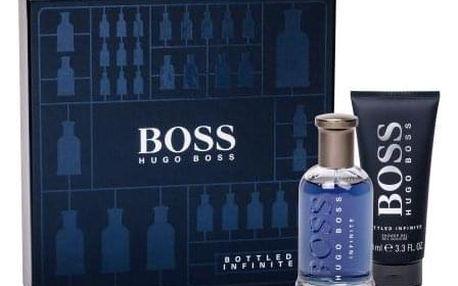 HUGO BOSS Boss Bottled Infinite dárková kazeta pro muže parfémovaná voda 100 ml + sprchový gel 100 ml