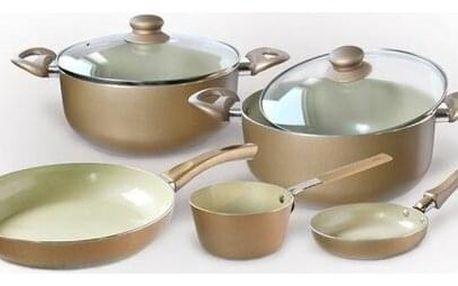 TORO 7dílná sada nádobí CHAMPAGNE