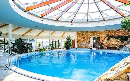 Lázeňské Dudince: Wellness pobyt v Hotelu Flóra s neomezenými bazény, množstvím procedur + plná penze