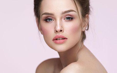 60minutové kosmetické ošetření obličeje a dekoltu