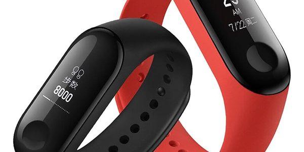 Fitness náramek Xiaomi Mi Band 3 černý