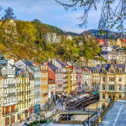 Karlovy Vary: Ozdravný pobyt ve 4* Spa & Wellness Hotelu Karlsbad Grande Madonna s 18 procedurami a polopenzí