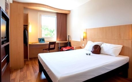 Hotel Ibis v Plzni: jídlo i wellness či adrenalin