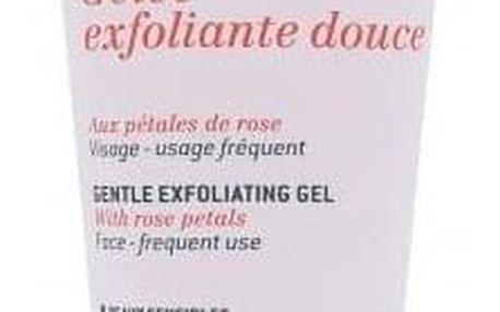 NUXE Rose Petals Cleanser Gentle Exfoliating Gel 75 ml čisticí gel pro citlivou pleť pro ženy