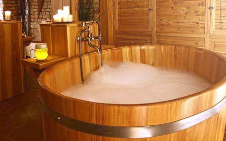 Sauna, pivní lázeň i neomezená konzumace piva
