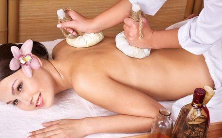 Královská masáž a zábal v Royal Jasmine Spa