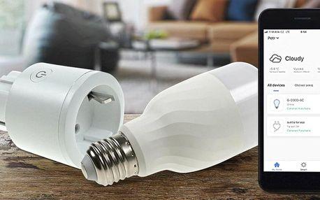 Chytrý dům za okamžik: smart zásuvka nebo žárovka