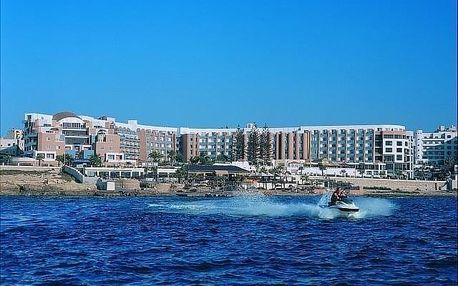 Malta - Bugibba a Qawra letecky na 8-12 dnů, snídaně v ceně