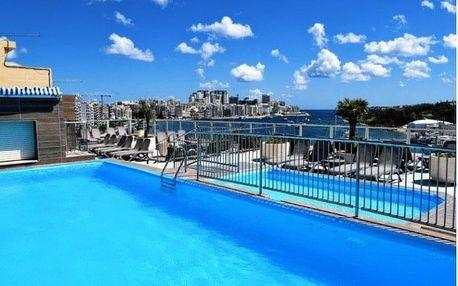Malta - Sliema letecky na 8 dnů