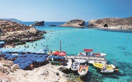 Malta - Bugibba a Qawra letecky na 8 dnů