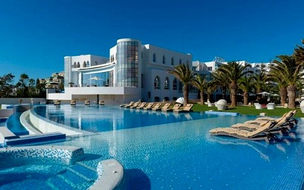 IBEROSTAR KANTAOUI BAY, Port El Kantaoui, Tunisko, Port El Kantaoui, letecky, all inclusive2