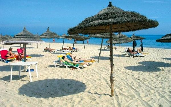 RIADH PALMS, Sousse, Tunisko, Sousse, letecky, all inclusive2