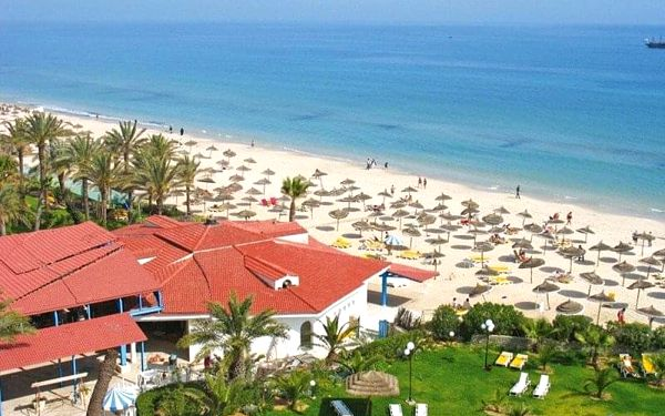 RIADH PALMS, Sousse, Tunisko, Sousse, letecky, all inclusive5