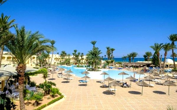 ZEPHIR HOTEL & SPA, Zarzis, Tunisko, Zarzis, letecky, all inclusive4