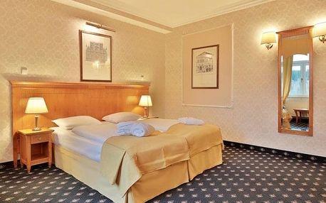 Mariánské Lázně v komfortu čtyřhvězdičkového hotelu