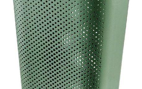 Curver Koš na špinavé prádlo INFINITY 59 l, zelená