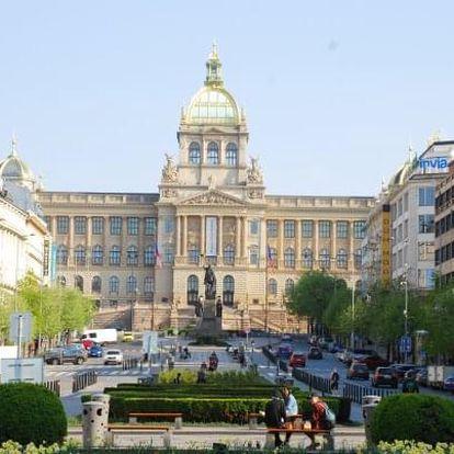Praha exkluzivně přímo z Václavského náměstí v 5* Hotelu Ambassador Zlatá Husa se snídaní + dítě do 12 let