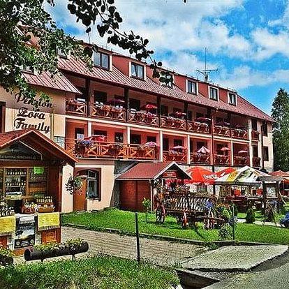 Tatranská Lomnica na 3-31 dnů, polopenze