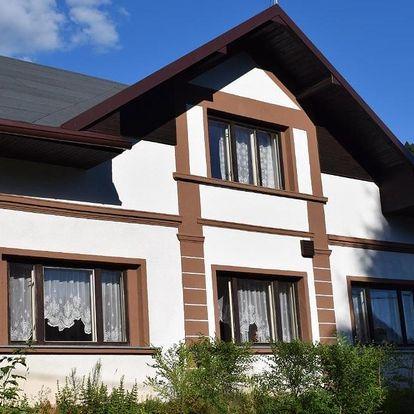 Krásy Broumovska: Ubytování u Šveců