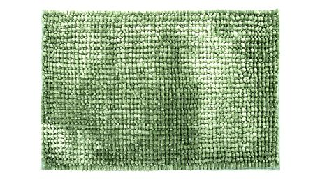 Bo-ma Koupelnová předložka Ella micro zelená, 50 x 80 cm