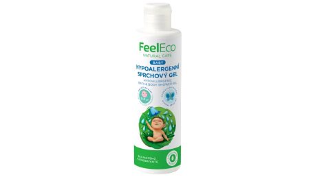 Feel Eco Baby Hypoalergenní sprchový gel 200ml