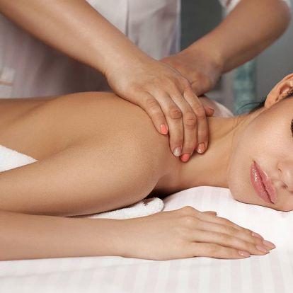 80 minut relaxace s luxusní masáží a zábalem