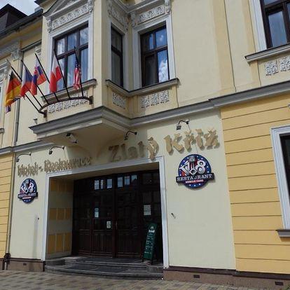 České středohoří: Hotel Zlatý Kříž