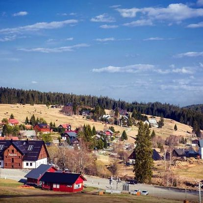 Kvilda, Jihočeský kraj: Apartmány Faustin