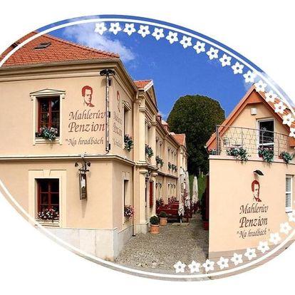 Vysočina: Mahleruv Penzion Na Hradbach