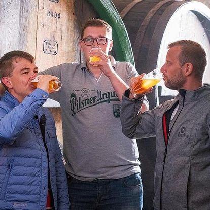 Škola čepování piva Pilsner Urquell + prohlídka pivovaru