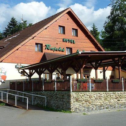 Beskydy: Horsky hotel Rajska bouda