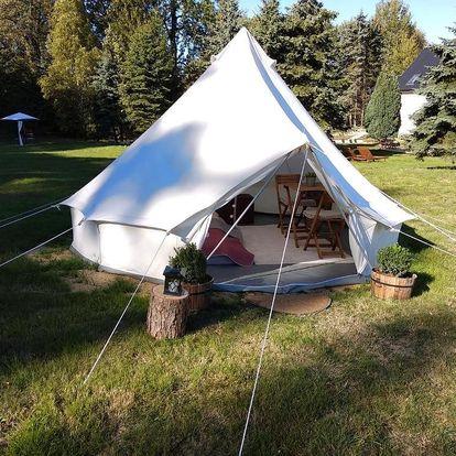 Národní park České Švýcarsko: Trapani glamping camp