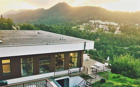 Krásné Vídeňské Alpy ve Sporthotelu am Semmering *** se saunou, bazénem, jízdenkou na lanovku a polopenzí
