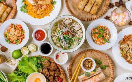 Vietnamský oběd: plný talíř nebo all you can eat