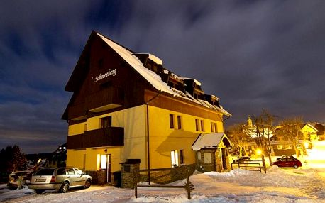 Krušné hory: Schneeberg Apartmany