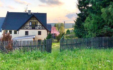 Karlovarský kraj: Chalupa Hrázděnka v Krušných horách