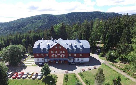 Jizerské hory: Hotel Lesní Chata