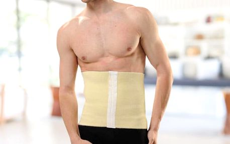 Stahovací břišní pás pro muže: velikosti S–XXXL