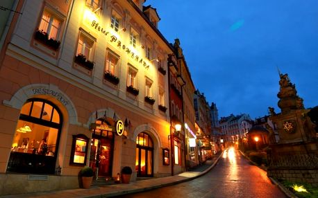 Karlovarský kraj: Promenáda Romantic Hotel